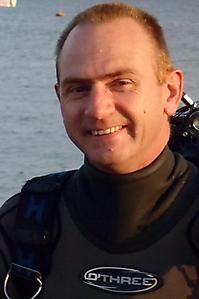 Martin Davies - Diving Officer